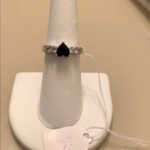 Sapphire ring -new listing